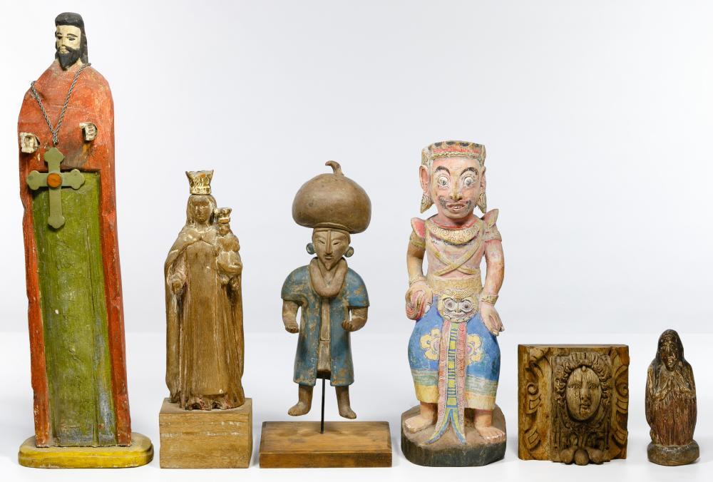 Wood Figurine Assortment