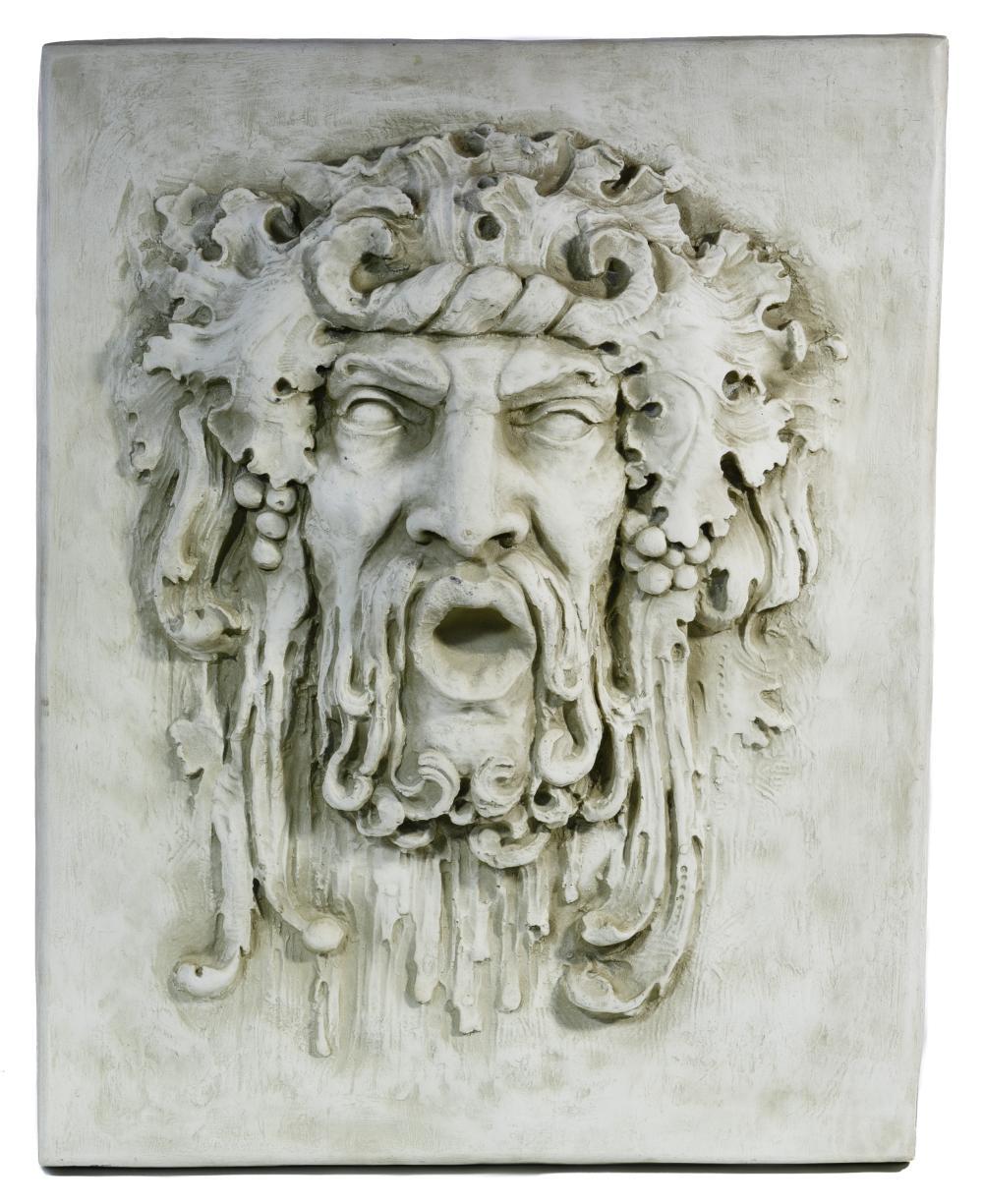 Bacchus Wall Plaque