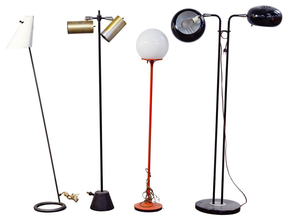 Modern Designer Metal Floor Lamp Assortment