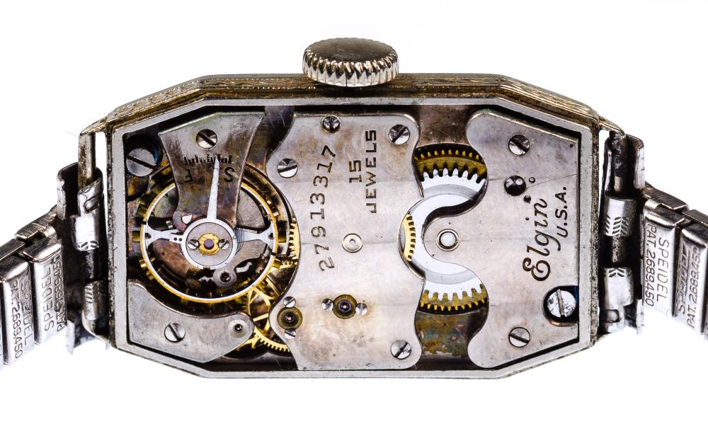 14k White Gold Case Wristwatch Assortment