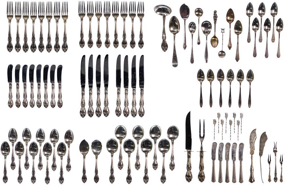 Gorham Sterling Silver 'Melrose' Flatware Assortment