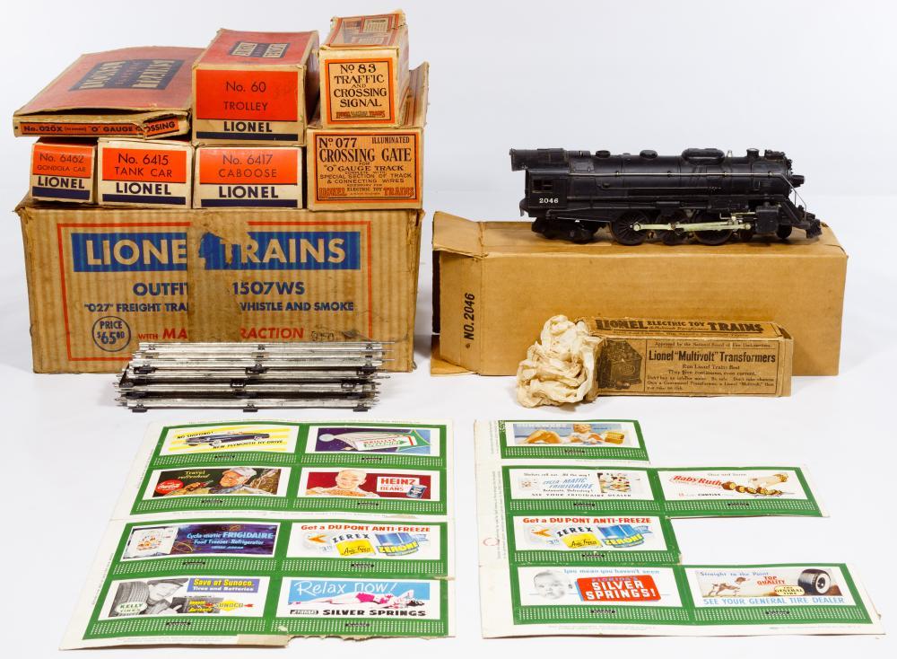 Lionel Model Train Boxed Assortment