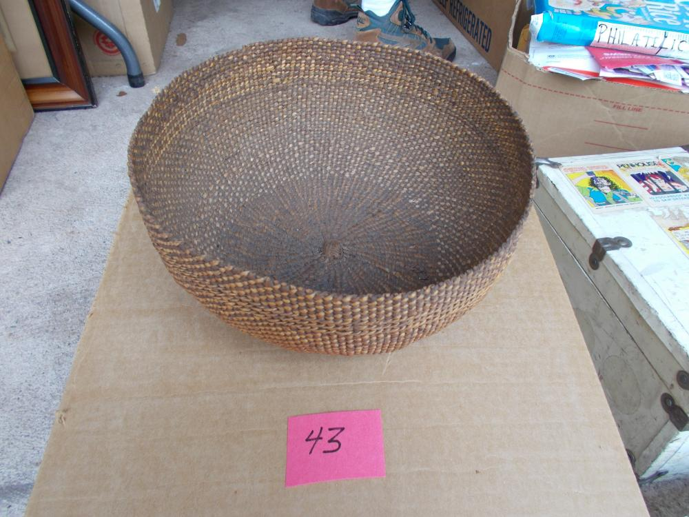 "8 1/2"" Dia. California Indian Basketry Bowl"
