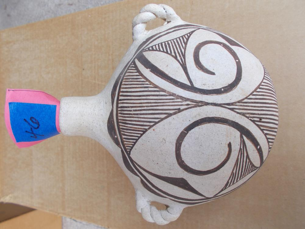 Mexican Style Acoma Pottery From New Mexico