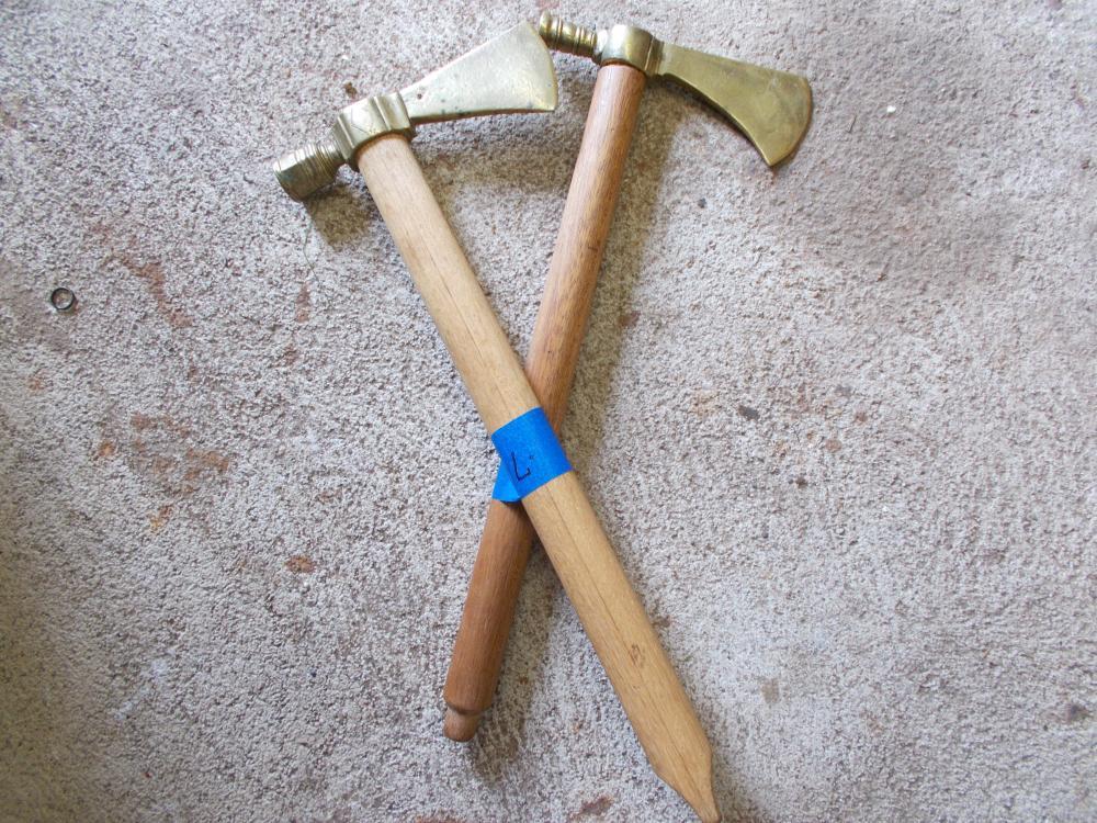Lot 71: 2 Modern Pipe Tomahawks