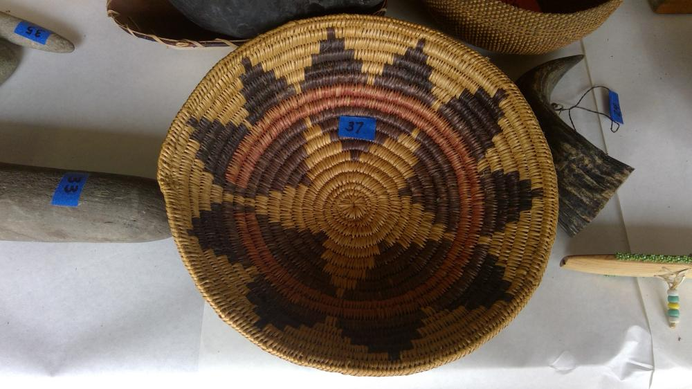"12 1/2"" Dia. Navaho Wedding Basket"