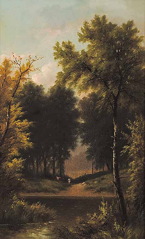 Artist: HENRI RENARD [19th century] French Title: