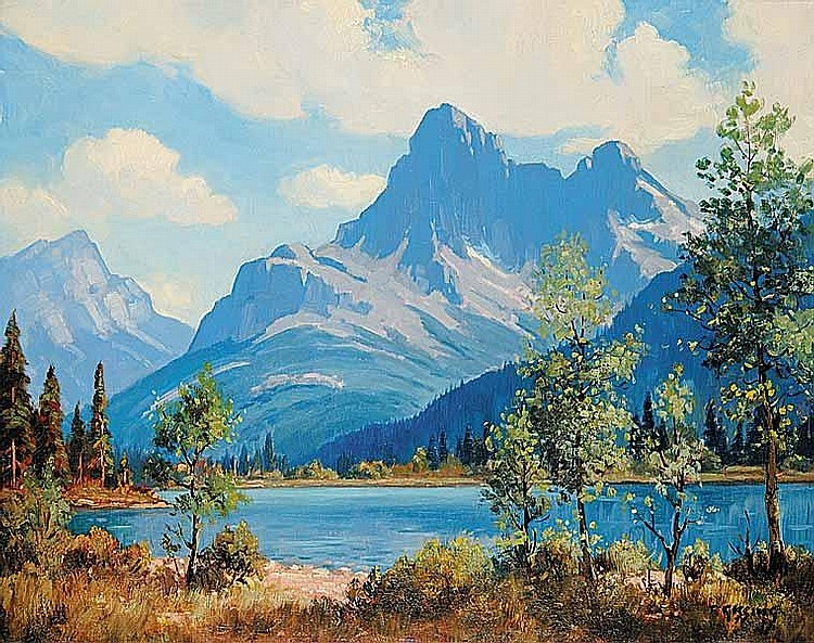 Artist : ROLAND GISSING ~ [1895-1967] Canadian