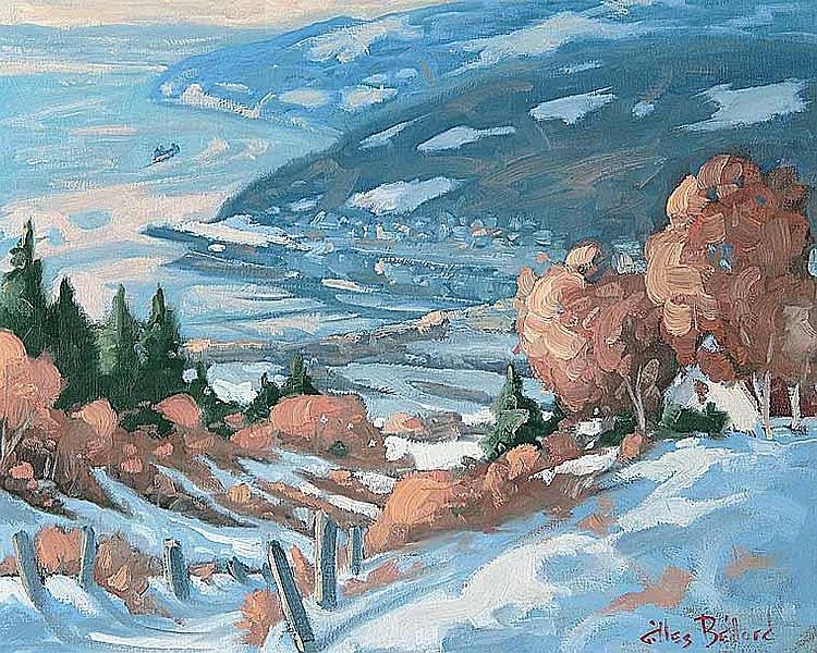 Artist : GILLES BEDARD ~ [b.1954] Canadian Title :