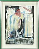 TURTURRO SIGNED ABSTRACT PAINTING, Domenick  Turturro, Click for value