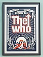 THE WHO LIVE IN CONCERT POSTER