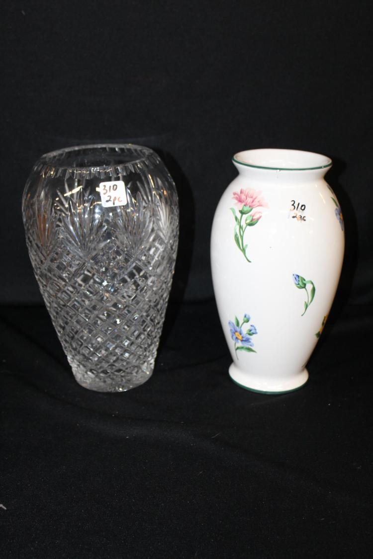 Tiffany & Co. Vase and Waterford style