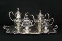 5pc Silverplate Tea Set by Reed & Barton