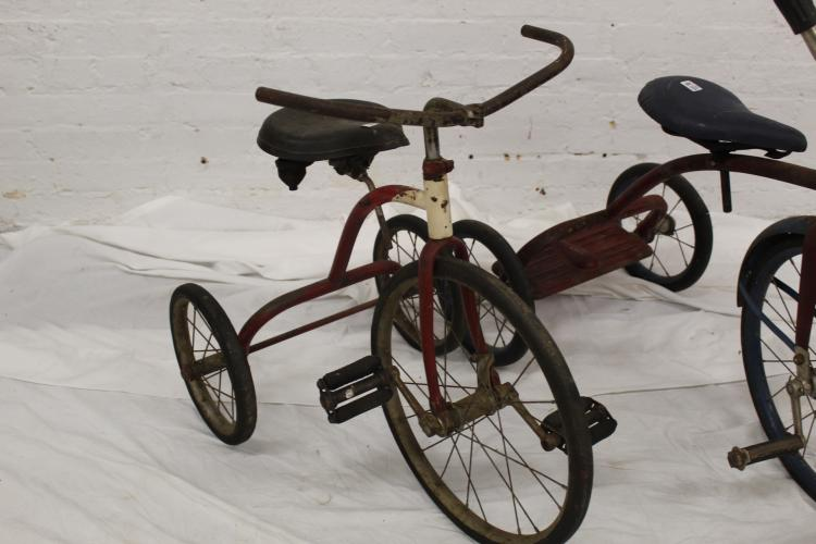 Antique Airplane Tricycle : Pc antique tricycles