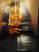 Rock Poster of Bob Marley