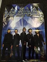 Rock Poster of Def Leppard