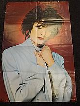 Signed Poster of Siouxsie (Siouxsie and the