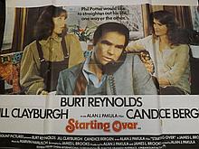 Film Poster of Starting Over Starring Burt