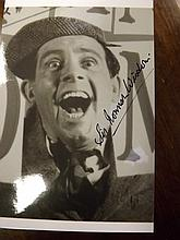 Black and White Photograph of and signed by Sir