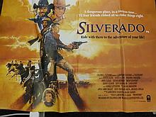 Film Poster of Silverado Starring Kevin Kline,