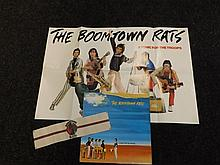 Scarce Rock Poster, LP Record and Newspaper