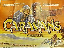 Film Poster of Caravans - Staring Anthony Quinn