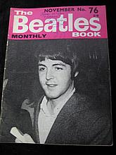 The Beatles Book, Monthly No. 76 Dated November