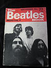 The Beatles Book, Monthly No. 77 Dated December