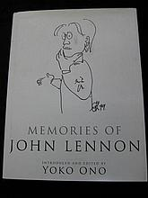Memories of John Lennon Introduced and edited by