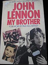 John Lennon My Brother by Julia Baird with