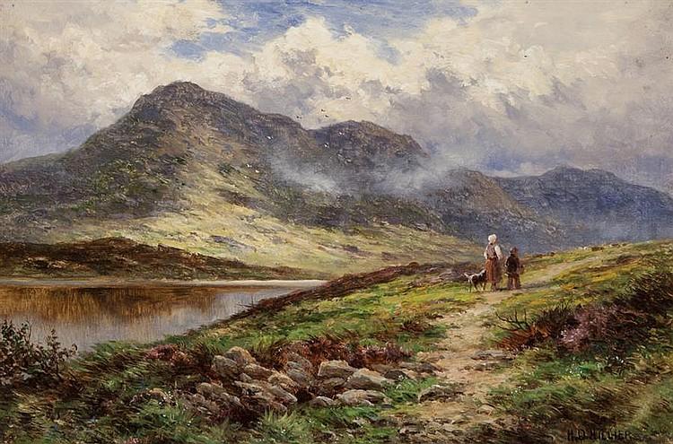 Henry Hillier Parker British 1858 1930 Glen Lochay Near