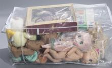 Collection of assorted dolls
