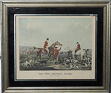 Henry Alken, British (1785-1851), The High Mettled Racer, hand colored lithograph,