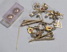 Nice collection of assorted costume jewelry
