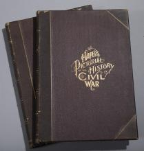 Guernsey, Alfred: Harper's Pictorial History of the Civil War. With the 1866 date on the copyright page, and the Harper's notice dat...