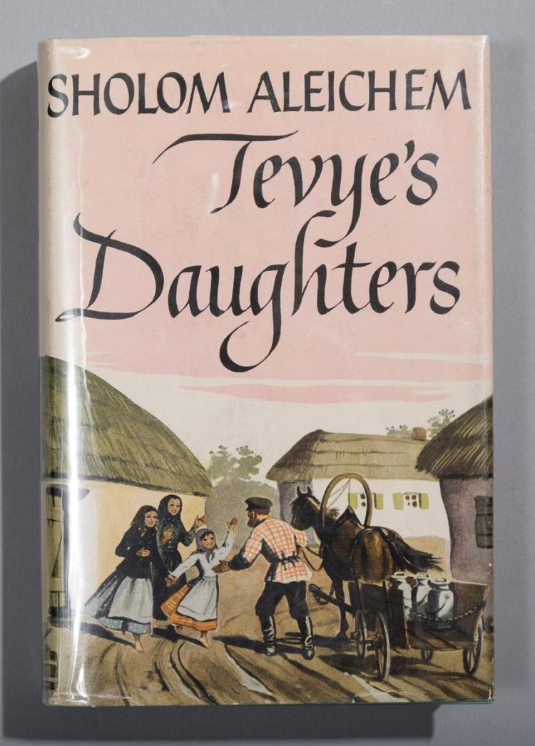the marriage arrangment of tzeitl in tevyas daughters by sholem aleichem Study guide - fiddler on the roof money or property brought by a bride to her marriage now to propose a musical adaptation of sholem aleichem's tevye the.