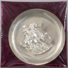 After Salvador Dali, Sterling Silver Plate