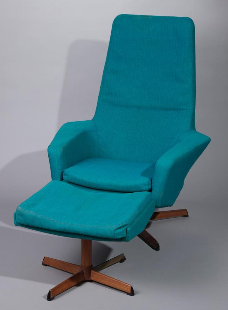 Lounge chair with matching ottoman for Matching lounge furniture