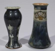 Two Royal Doulton vases