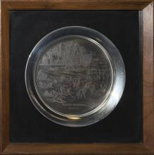Sterling Silver Limited Edition Plates