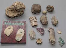 A Group Of Assorted Geologiacl Items