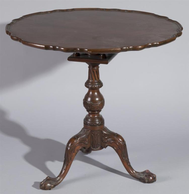 Early 20th century tilt top table for Table th link