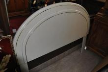 Art Deco style headboard made by Lane Furniture Co