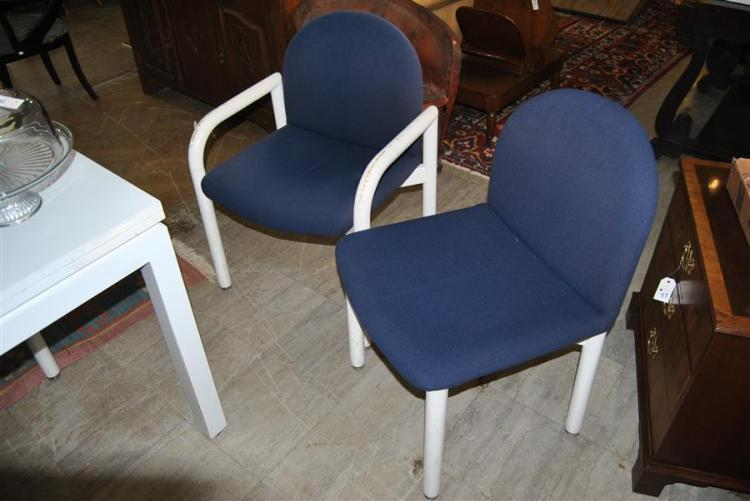 Set of four contemporary chair made by Collier Furniture Co
