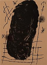 Joan Miro, Spanish (1893-1983), for Dorriere le Miroir, No 151-152, lithograph in black, 14 1/2 x 10 1/2 (sight)