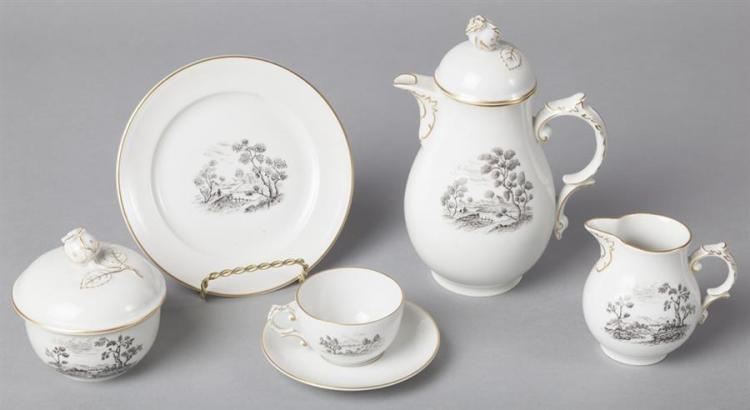 Furstenberg, Germany, Porcelain Demitasse Coffee Set