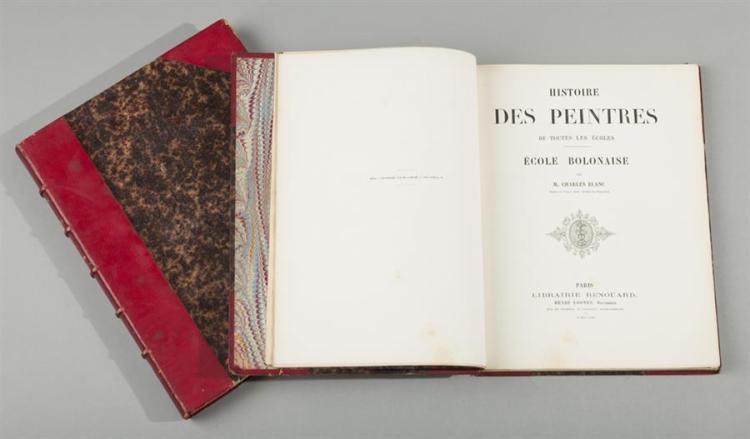 Jules Renouard, Histoire des Peintres de Toutes les Ecoles, Paris