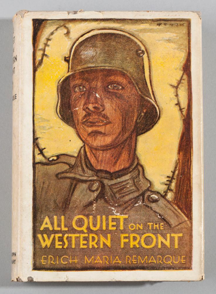 Remarque, Erich Maria; All Quiet on the Western Front. Little, Brown & Company, 1929, first edition