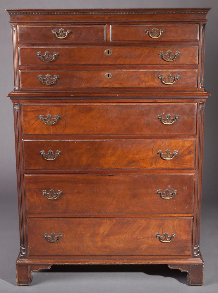 Georgian Style Highboy, Early 20th Century