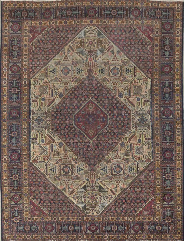 Large Persian Tabriz Room Rug (circa 1940''s)